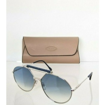 Brand New Authentic Tod's Sunglasses TO 235 18W 59mm Silver Frame TO235