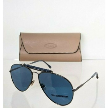 Brand New Authentic Tod's Sunglasses TO 255 12V 60mm Black Frame TO255