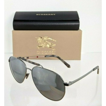 Burberry BE 3097 1003/6G Gunmetal Sunglasses