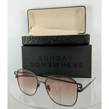 Sunday Somewhere Jesse 152 Rose Brown Sunglasses