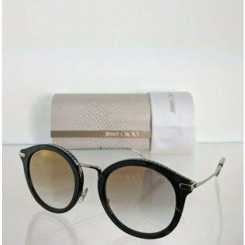 Jimmy Choo Bobby/S 9ANJL Grey Charcoal & Silver Sunglasses