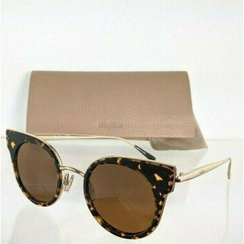 Maxmara MM ILDE I 2PTW4 Tortoise & Gold Sunglasses
