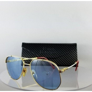 Porta Romana 232 Gold Blue Sunglasses