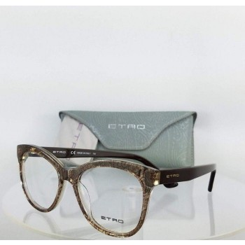 ETRO ET2605 211 Black Tortoise Grey Eyeglasses