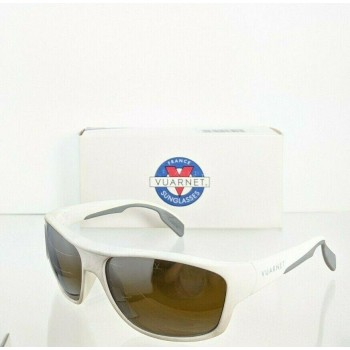 Vuarnet VL1402 0008 White Sunglasses