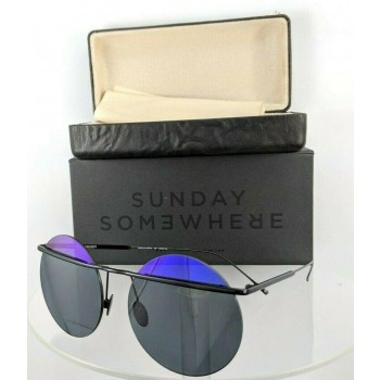 Sunday Somewhere Minggu 142 Pur Black Sunglasses