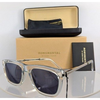 Karen Walker Monumental Clear/Silver Sunglasses