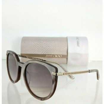 Jimmy Choo Dena/F/S FWMNQ Pink & Gold Sunglasses