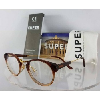 Retrosuperfuture 817 0T Brown Eyeglasses