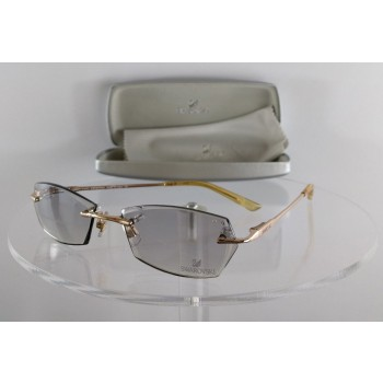 Swarovski AIR SW 5015 028 Gold Sunglasses
