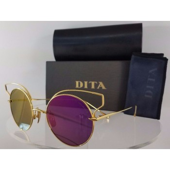 Dita Believer 23008-A-GLD Gold Sunglasses
