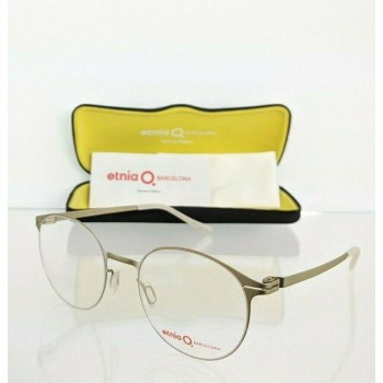 Etnia Barcelona MALMO GDSL Brushed Gold Eyeglasses