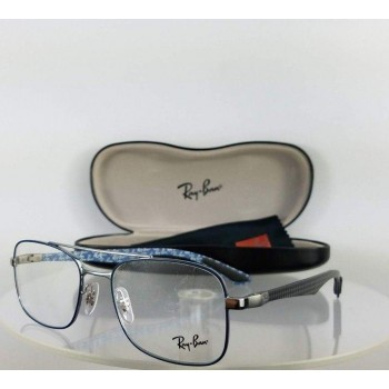Ray Ban RB 8417 2953 Blue/Silver Eyeglasses