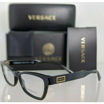 Versace VE 3275 GB1 Black & Gold Eyeglasses