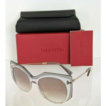 Valentino VA4033 5083/13 Transparent Pink Sunglasses