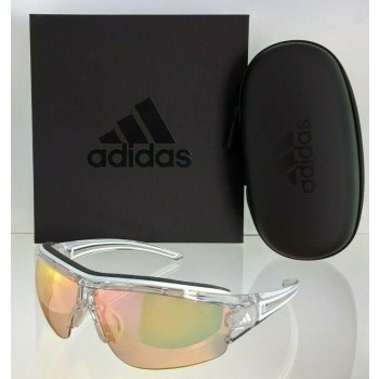Adidas A198 6097 Evil Eye Half.Pro S Clear & White Sunglasses