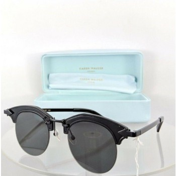 Karen Walker Buccaneer Black Sunglasses