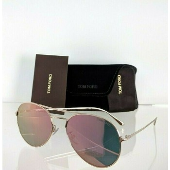 Tom Ford FT 551 28Z Black & Gold Sunglasses
