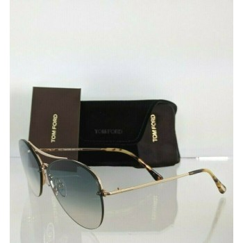 Tom Ford FT 566 28W Gold Sunglasses