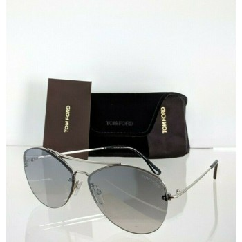 Tom Ford FT 566 18C Silver Sunglasses