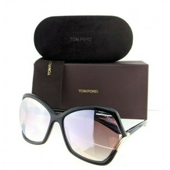Tom Ford FT 579 01Z Black & Gold Sunglasses