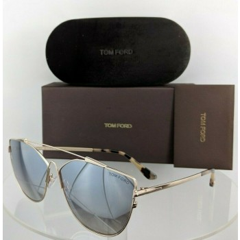 Tom Ford FT 563 28C Gold Sunglasses