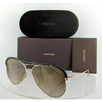 Tom Ford FT 606 28G Tortoise & Gold Sunglasses