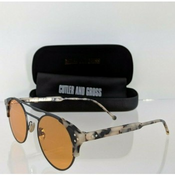 Cutler And Gross London 1271 08 Leopard Tortoise Sunglasses