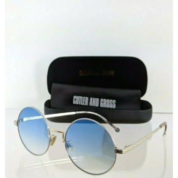 Cutler And Gross London 1272 02 Gold Sunglasses