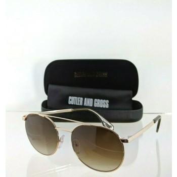 Cutler And Gross London 1133 OL Gold Sunglasses