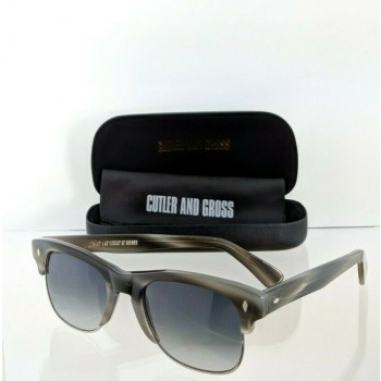 Cutler And Gross London 1117 GRH Grey Charcoal Sunglasses