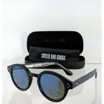 Cutler And Gross London 1291 07 Black Sunglasses