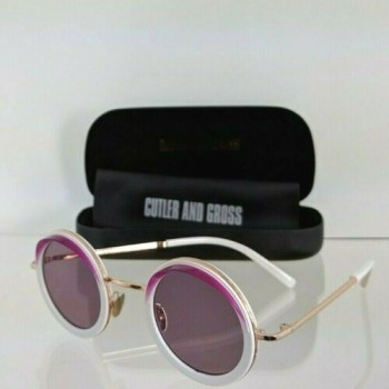 Cutler And Gross London 1277 08 Purple & White Sunglasses