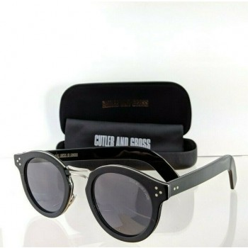 Cutler And Gross London 1282 01 Black & Gold Sunglasses