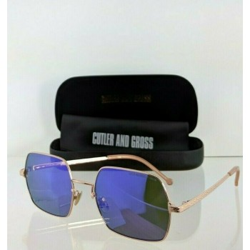 Cutler And Gross London 1300 07 Rose Gold Sunglasses