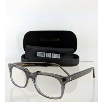 Cutler And Gross London 1014 GP Translucent Grey Eyeglasses