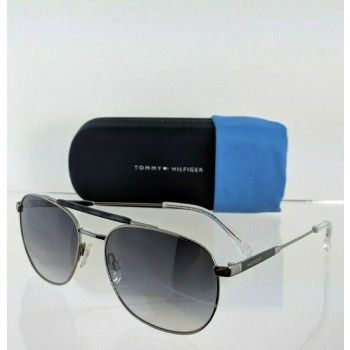 Tommy Hilfiger Th 1308/S Z6480 Silver Sunglasses