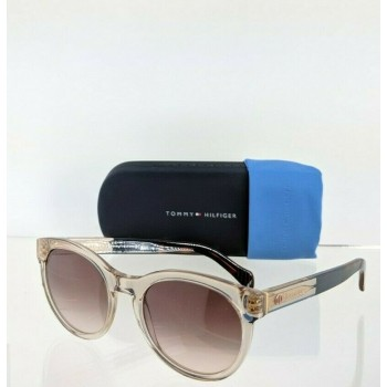 Tommy Hilfiger Th 1291/S G79FM Pink Clear and Brown Sunglasses