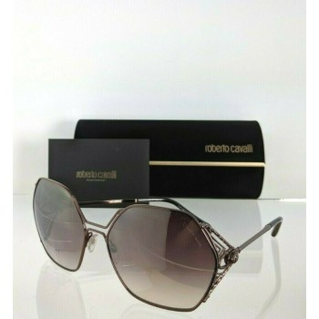 Roberto Cavalli FOSDINOVO RC 1056 34G Brown Copper Sunglasses