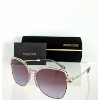 Roberto Cavalli MONTALE RC 1083 28Z Gold & Pink Sunglasses
