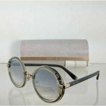 Jimmy Choo Gem/S 16UFU Grey Silver Sunglasses