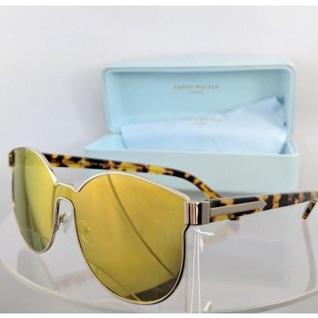 Karen Walker Star Sailor Tortoise Gold Mirrored Sunglasses