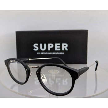 Retrosuperfuture 20B 0T41 Super Matte Black Eyeglasses