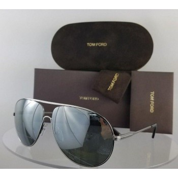 Tom Ford FT450 14C Silver Sunglasses
