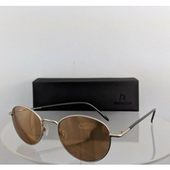 Rodenstock R 1393 B Gold Metallic Sunglasses