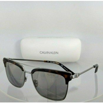 Calvin Klein CK 8049S 049 Tortoise and Silver Sunglasses