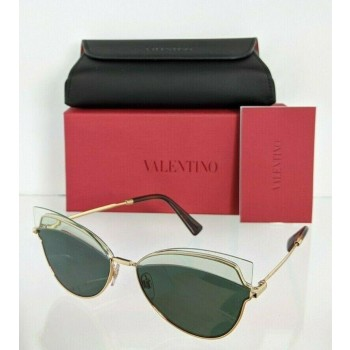 Valentino VA2030 3002/71 Tortoise & Red Sunglasses
