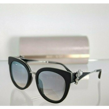 Jimmy Choo Jade/S PSW9C Black & Silver Sunglasses