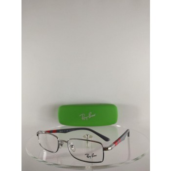 Ray Ban RB1030 4008 Gray/Red Eyeglasses