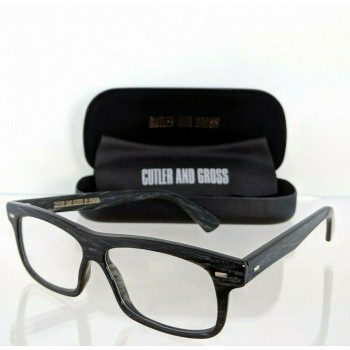 Cutler And Gross Of London 1098 BGR Charcoal Eyeglasses